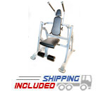 The Abs Company Vertical Crunch Commercial Plate Loaded Ab Crunch Machine