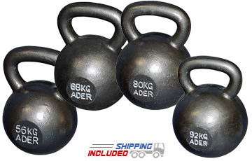 Ader Fitness CrossFit Kettlebell Sets