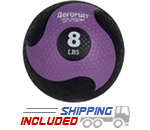 Elite Deluxe Low Bounce Medicine Ball - 8 lb.