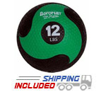 Elite Deluxe Low Bounce Medicine Ball - 12 lb.