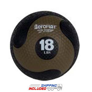 Elite Deluxe Low Bounce Medicine Ball - 18 lb.
