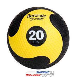 Elite Deluxe Low Bounce Medicine Ball - 20 lb.