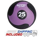 Elite Deluxe Low Bounce Medicine Ball - 25 lb.