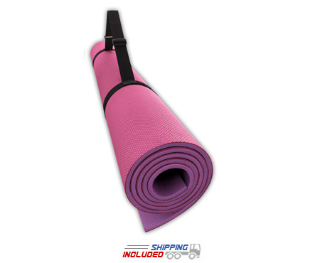 Alessco Reversible SoftMat Gym Mats made from Closed Cell EVA Foam Rubber