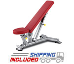 BH Fitness L825 TR Series Multi-Adjustable Utility Bench for Weightlifting