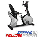 BH Fitness LK570 Light Commercial Upright and Recumbent Bike Combo