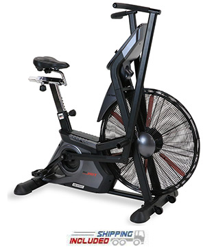 BH Fitness LK700FB Commercial Fan Bike for High Intensity Interval Training