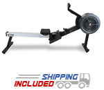 BH Fitness LK700RW Commercial Air Resistance Rowing Machine