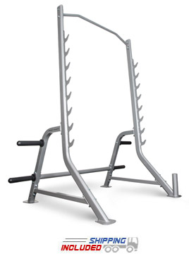 BodyCraft F460 Half Cage Squat Rack with Light Commercial Warranty