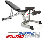BodyCraft F602 V2 Deluxe Flat-Incline-Decline Weight Bench