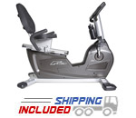 BodyCraft R18 Compact Recumbent Exercise Bike