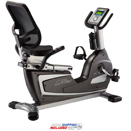 Compact Semi-Recumbent Exercise Bike