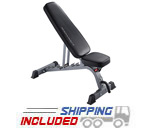 BodyCraft F601 Light Commercial Flat Incline Decline Utility Bench