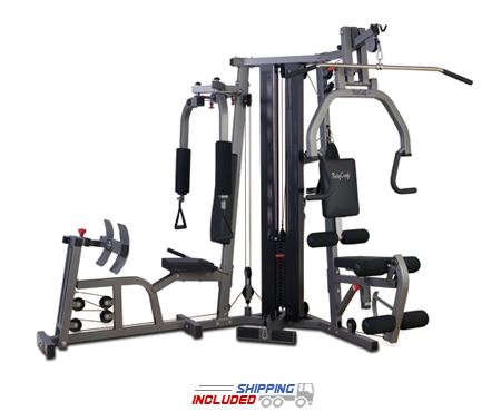 BodyCraft GALENAPRO-LEG Galena Pro Home Gym with Leg Press and Shrouds