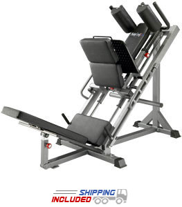BodyCraft F660 Plate Loaded Hip Sled with Linear Bearings
