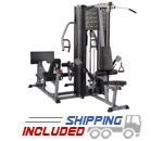 2 Stack Gym with Functional Training Arms and Leg Press