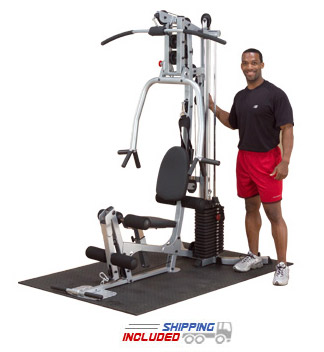 Powerline by Body-Solid BSG10X Space Efficient Home Gym