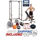 Garage Gym Cross-Training Studio Set - BRONZE Package