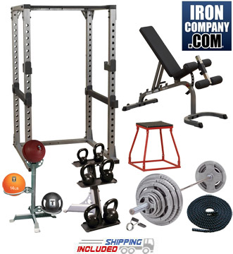 Garage Gym Cross-Training Studio Set - Silver Package
