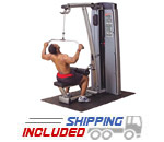 Body-Solid DLAT-F Pro Dual Lat Pulldown & Mid Lat Row Machine