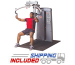 Body-Solid DPEC-F Pro Dual Pec & Rear Delt Machine for Commercial Gyms