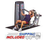 Body-Solid DPRS-F Selectorized Pro Dual Multi Chest Press Machine