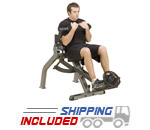 Body-Solid GAB350 Semi Recumbent Dual Ab Crunch Bench