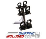 3-Pair Kettlebell Rack