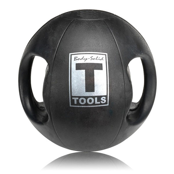 Dual Grip Medicine Ball with Handles