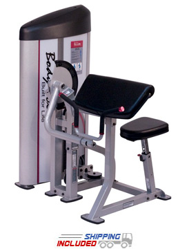 Body-Solid S2AC Pro Clubline Series II Arm Curl Machine