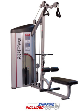 Pro Clubline Series II Lat Pulldown and Seated Row Machine