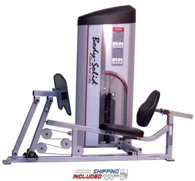 Pro Clubline Series II Leg Press and Calf Raise Machine