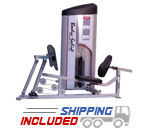 Body-Solid S2LPC Pro Clubline Series II Leg Press and Calf Raise Machine