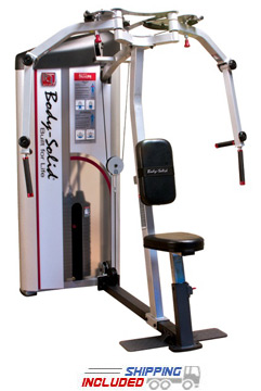 Body-Solid S2PEC Pro Clubline Series II Pec Fly and Rear Delt Machine