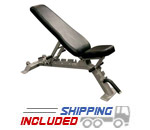 Commercial Flat/Incline/Decline Bench