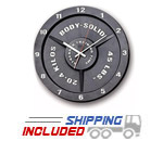 Body-Solid STT-45 Olympic Weight Plate Gym Clock