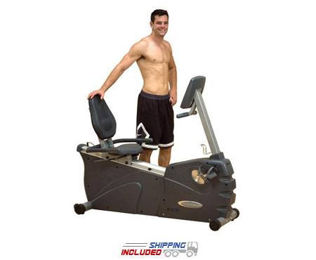 Body Solid B2.5R Recumbent Exercise Bike with Magnetic Resistance