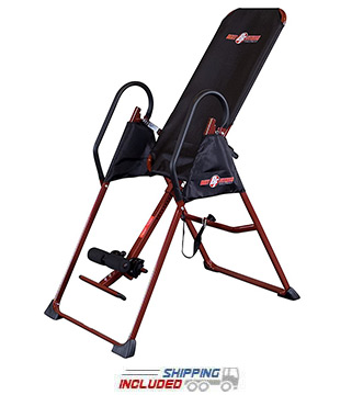 Best Fitness BFINVER10R Inversion Therapy Table by Body-Solid for Home Gym