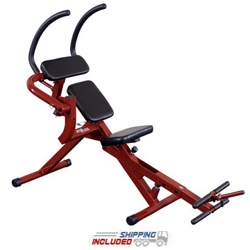 Best Fitness BFAB20R Semi-Recumbent Ab Bench by Body-Solid for Home Gym