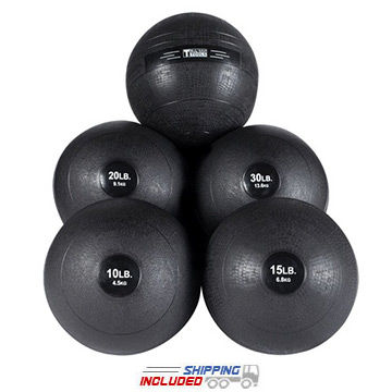 Body Solid BSTHB Black Non-Bouncing Slam Balls