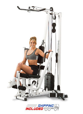 Body-Solid EXM1500S Home Gym with 160 lb. Weight Stack