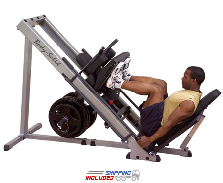 Body-Solid GLPH1100 Plate Loaded Leg Press / Hack Squat Combo