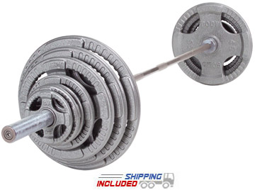 steel grip olympic set