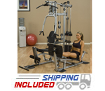Powerline by Body-Solid P2X-PLPX Selectorized Home Gym with Leg Press