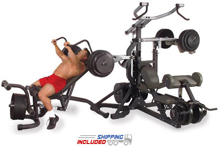 Body-Solid SBL460P4 Plate Loaded Leverage Gym System