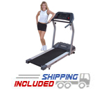 Body Solid T3I Endurance Treadmill for Residential Use