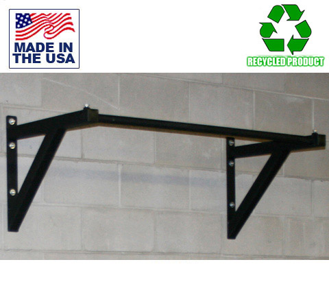 Modular Wall-Mounted Pull-Up Bar