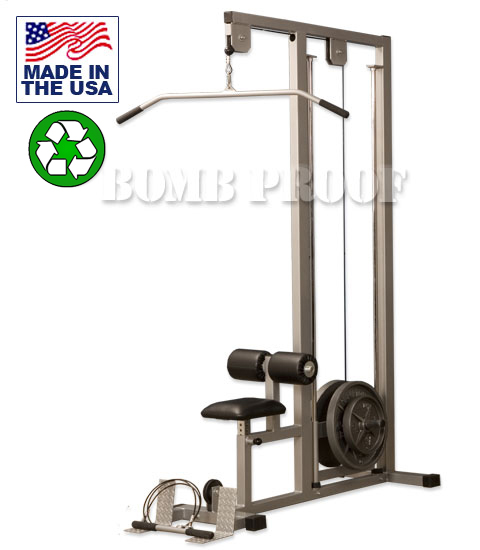 lat pulldownPlate Loaded Lat Pulldown Machine