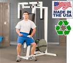 Bomb Proof BP-24 Plate Loaded Pec Dec Machine for Chest Training