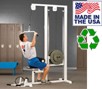 Bomb Proof BP-25-26 Plate Loaded Lat Pulldown / Low Row Pulley Combo